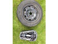 VW Polo spare wheel and Jack, brace etc