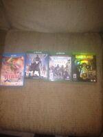 Xbox one games,  Hyrule warriors for the WiiU