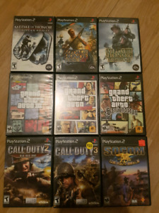 Ps2 slim and 15 games