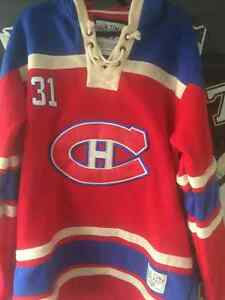 Hoodie Cotton ouatter du canadiens Price large