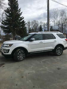 2016 Ford Explorer Platinum SUV, Crossover
