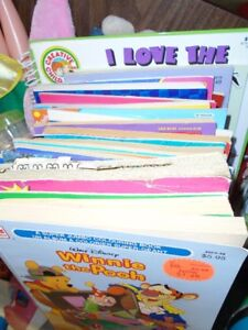 Box of 14 Colouring Books   for sale