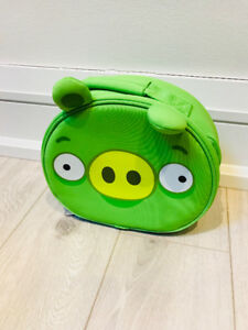 Angry Birds Insulated Lunch Bag - Green Pig - Never Used