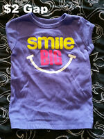 Baby Girl Size 2T - 7 for $5