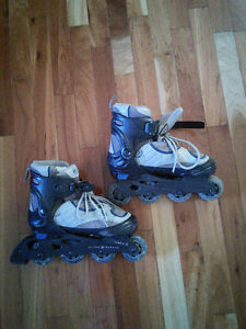 Roller Blades Adjustable Size 1-4