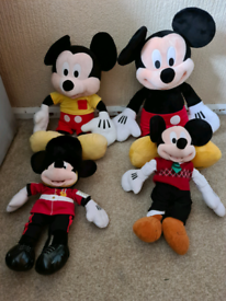 Micky mouse teddies