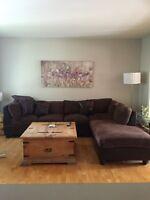Sofa sectionnel à vendre 200$