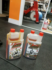 Two-stroke Samurai racing oil 100% synthetic
