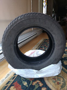 "4 used Goodyear Fortera HL Tires P245/65R17 - 29.5"" diameter"