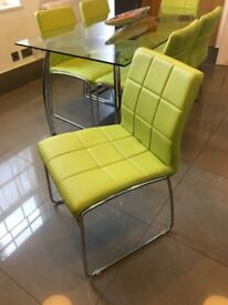 Contemporary dining / reception chairs £25 each