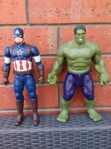 Avengers Titan Hero Tech action figures