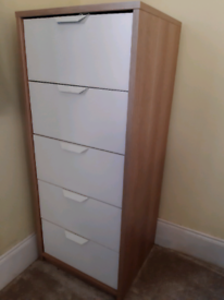 Pairs of 2 chests of drawers