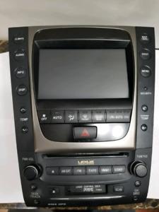 07+ Lexus GS gps nav display headunit radio climate tpms