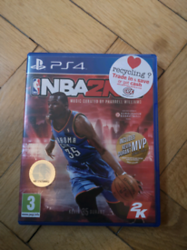 PS4 NBA 2K15 game