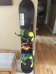 Option snowboard with 10.5 Boots