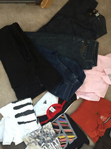 Lot of mens clothing 32-34