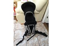 Mothercare Baby back carrier with rain cover and sun shade