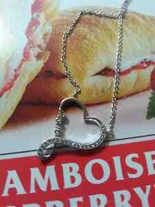 Heart/mom necklace 925 silver