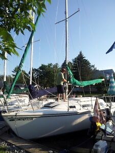 Sailboat slips and club membership