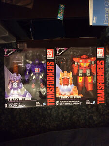 Transformers Titians Return  Voyagers