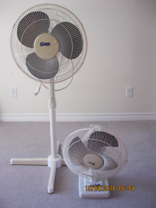 oscillating, multi speed, extendable height, works great fans