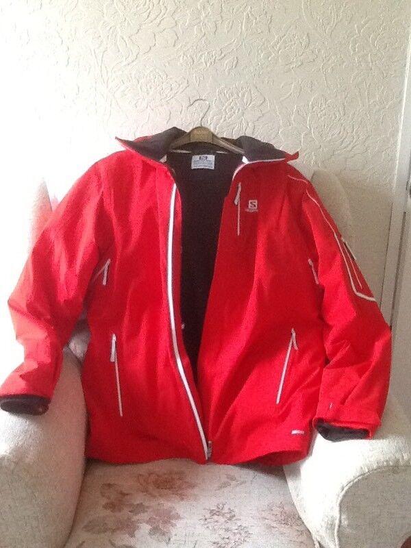 XL Red Soloman ski jacket