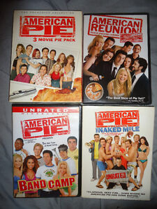 AMERICAN PIE MOVIES 6 dvds