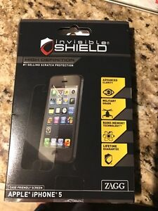Invisible shield for iPhone 5