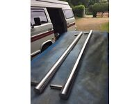 VW Volkswagen T25 T3 CHROME SIDE BARS