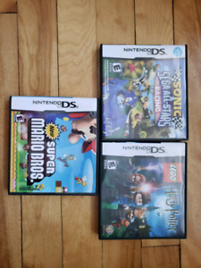 DSi Games ($10 for all three)