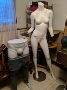 Assorted Mannequins Mannequin Full & Half Size Head Female Male