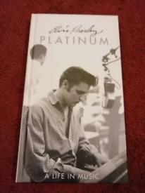 Elvis Presley. Platinum. A life in music. 4 CD set.