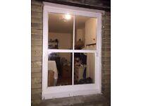 Wooden sliding sash window made to measure