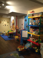 Infant/toddle/pre-school care East end daycare