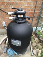 Hayward Club pro sand filter used