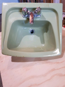 Retro 1970's Wall Sink