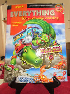 Everything for Math and Reading Grade 4 .........Fun as well!!
