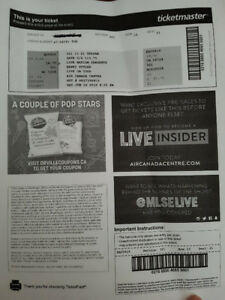 2 Harry Styles Concert Tickets