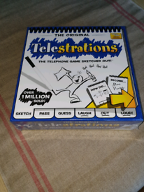 Telestrations party game - never opened