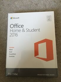 Office home& student 2016 For Mac