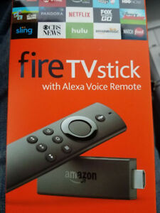 Amazon Fire TV Stick - Alexa - Kodi + Free TV - Brand New
