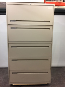 FILING CABINET - FEATURE OF THE MONTH - TEKNION 5 DRAWER $250