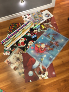 Paper and Ribbon Lot