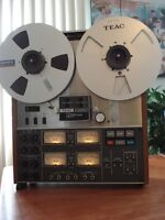 TEAC-A3340S  simul-sync 4 chanels 10.5 REEL TO REEL
