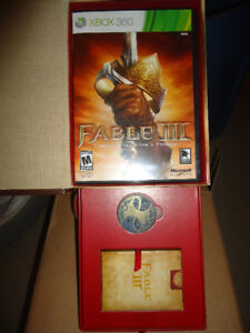 FABLE 3 XBOX 360 COLLECTORS EDITION