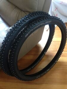 New Schwalbe Ice Breaker Pro Tires and Tubes