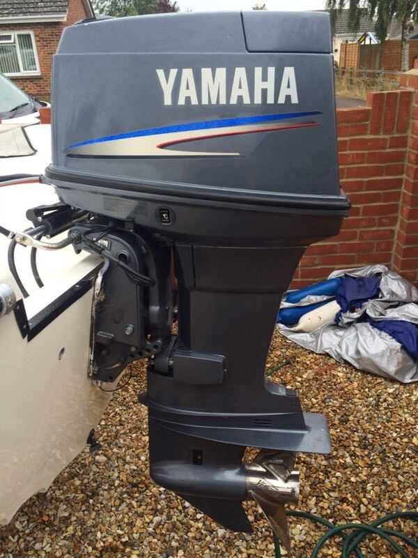 2008 yamaha 90hp 2 stroke outboard motor in bournemouth. Black Bedroom Furniture Sets. Home Design Ideas