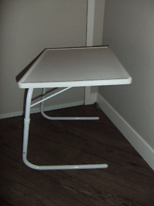 small metal folding table