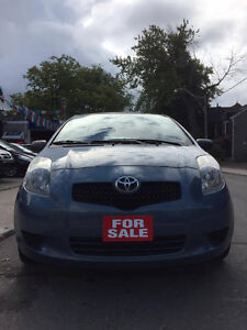 2007 Toyota Yaris LE Hatchback***SUPER LOW KMS***ONLY 90000KM***