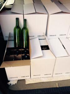 $9 for brand new one box(12 bottles) of 750ml wine bottle